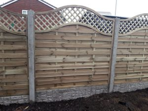 Bow Topped Fence