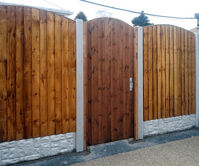 Garden gate wigan