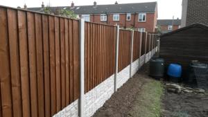 close board fences