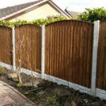 arch top fencing wigan