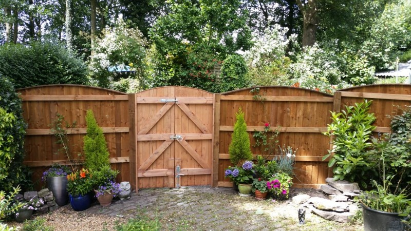 garden gate fitted