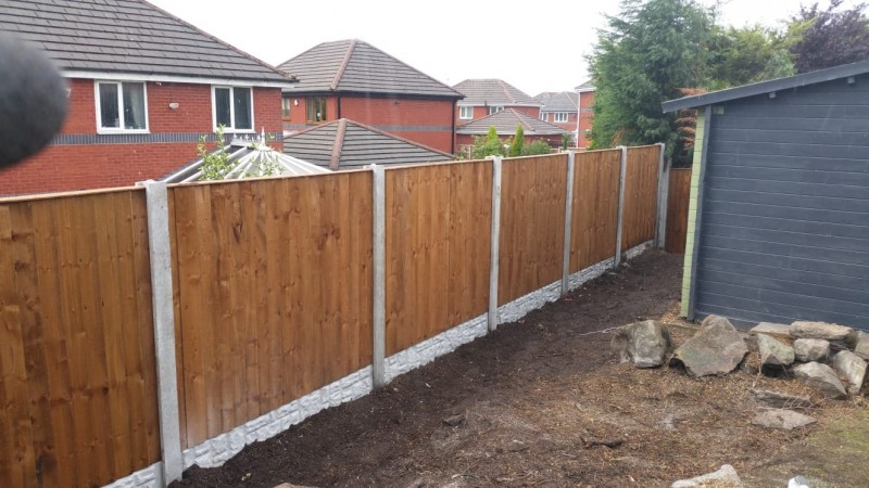 Fencing for new houses